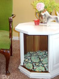 Dog Beds Made Out Of End Tables Dog Bed Made From End Table Dog Beds Pinterest So Cute Dog Beds