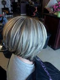 bob hair lowlights stacked bob with high low lights hair pinterest stacked