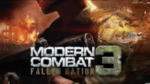 modern combat 3 apk free modern combat 3 fallen nation apk hd android now
