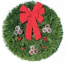 live christmas wreaths live fresh balsam evergreen christmas wreaths