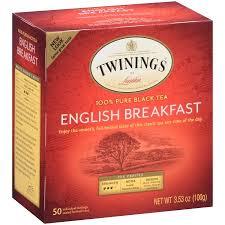 twinings of breakfast 100 black tea 50 count