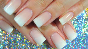 perfect french fade natural nail imgirlyoudontknow youtube