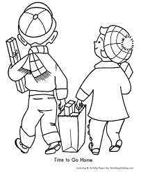christmas shopping coloring pages christmas coloring