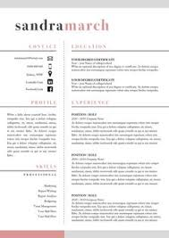 Professional Resume Sample by A Resume Template That U0027s Professional And Cute Love This