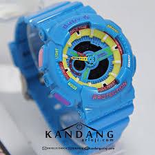 Jam Tangan Baby G Warna Merah jam tangan baby g ba110sn biru muda murah banget