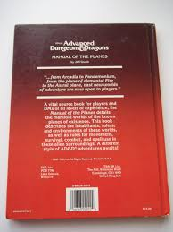 manual of the planes advanced dungeons and dragons jeff grubb