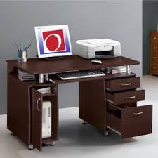 Overstock Home Office Desk Computer Desk With File Cabinet Locking Voicesofimani
