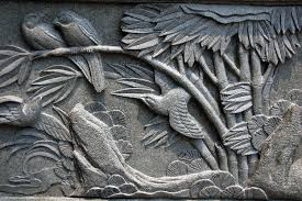 Garden Wall Plaque by Incredible Decoration Stone Wall Art Spectacular Idea Cast Stone