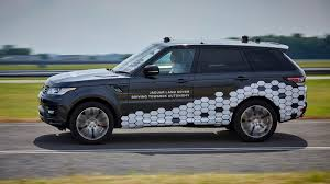 land rover sports car jaguar land rover self driving cars hit real roads for first time