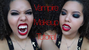 vampire halloween makeup tutorial youtube