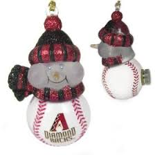 arizona diamondbacks christmas ornaments and collectibles