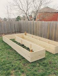learn how to build a u shaped raised garden bed home design