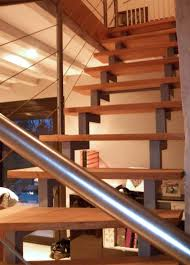 escalier design bois metal escalier sur mesure pose et fabrication à tours 37