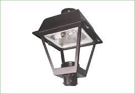 lighting ge outdoor area lighting fixture seml salem post top