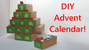 diy easy 12 day advent calender with big drawers youtube