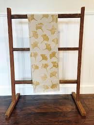 farmhouse style table cloth ginkgo print natural table runner farmhouse style linen table cloth