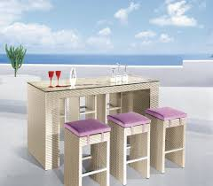 Patio Furniture Pub Table Sets - patio bar set ct82011 ct8669 outdoor patio furniture collections