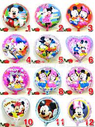 aliexpress com buy 1pcs 18inch mickey minnie mouse print foil