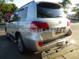 2015 lexus lx 570 white vanguard 08 17 lexus lx570 rear bar bumper protector grill guard