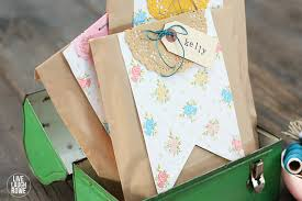 Handmade Gift Wrapping Paper - handmade gifts diy gift wrap the 36th avenue