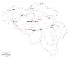 belgium map outline belgium free map free blank map free outline map free base map