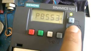 playing with siemens sinamics v20 inverter youtube