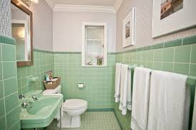 Green Bathroom Tile Ideas | 36 retro green bathroom tile ideas and pictures