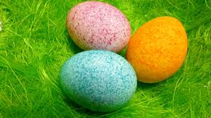 easter egg decorating coloring with dye rice shake it youtube