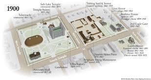 downtown salt lake city 1900 u2013 mapping mormonism