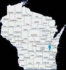 wisconsin map wisconsin care system map wisconsin department of health