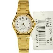 Jam Tangan Casio Gold jual jam tangan casio original wanita gold plat putih termurah