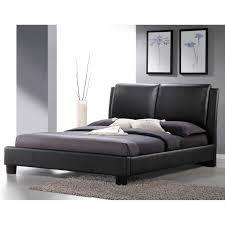 Queen Size Platform Bed Furniture Of America Vanna Rhinestone Tufted Platform Bed Hayneedle