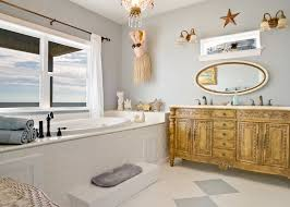 themed bathroom ideas bathroom ideas nautical themed with two small beachy