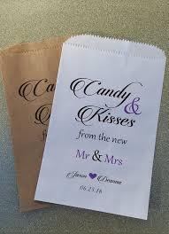 wedding treat bags best 25 wedding candy buffet ideas on wedding candy