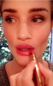 cougar makeup for halloween rosie huntington whiteley shows us how to use the products from