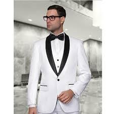 mariage homme marié costumes de mariage hommes blanc costume fait sur
