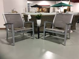 2 piece set bazza chat height chairs by telescope best fire