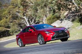 lexus rc price australia review lexus rc 350 review and first drive