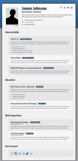 Fancy Resume Templates Fancy Resume Cv By Cond0r Themeforest