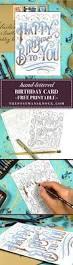 best 10 printable birthday cards ideas on pinterest free