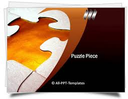 powerpoint puzzle piece template