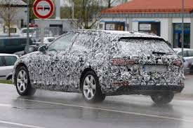audi a4 estate 2016 audi a4 avant snapped testing in camouflage auto express