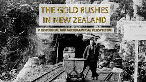 Seeking New Zealand History Of New Zealand The Gold Rushes