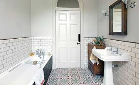 tiles bathroom choosing the right size tiles for a small bathroom real homes