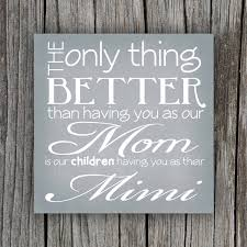 Best Mother Days Gifts by Grandmother Quote Canvas Mother U0027s Day Gift Idea Gift Ideas