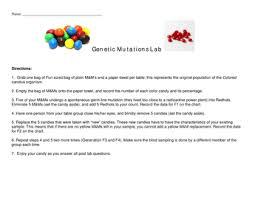 seventh grade lesson exploring mutations lab betterlesson