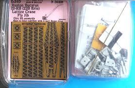 langley models 22 rb lattice crane fly jib u002755 on n scale