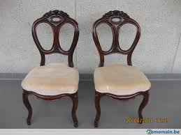 chaises louis philippe 6 chaises anciennes style louis philippe a vendre 2ememain be