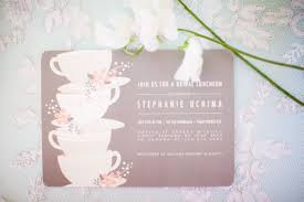 bridal shower tea party invitations pink vintage tea party bridal shower by chris kristen