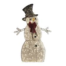 Outdoor Lighted Snowman Decorations by Lowes Christmas Decorations Home U0026 Interior Design